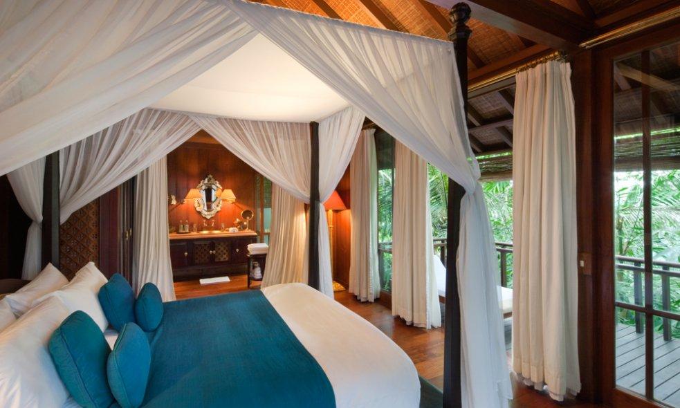 Platz 7 (Vorjahr: 11): Como Shambhala Estate, Bali Natürlich könnte man an diesem Rückzugsort inmitten von üppiger Dschungelszenerie luxuriöses Cocooning in einer der dreissig Pool-Villen geniessen.
