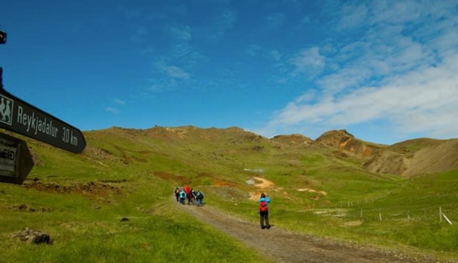 Island ist ein Traum für Wandervögel.