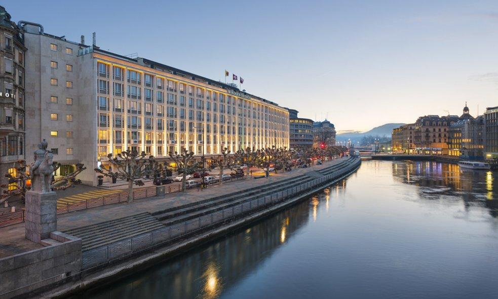 Platz 10 (Vorjahr: 14): Mandarin Oriental Geneva, Genf Im Gegensatz zu manchen anderen Luxusgruppen wissen die Mandarin-Verantwortlichen um die Wichtigkeit des besonderen Charakters jedes ihrer Häuser.