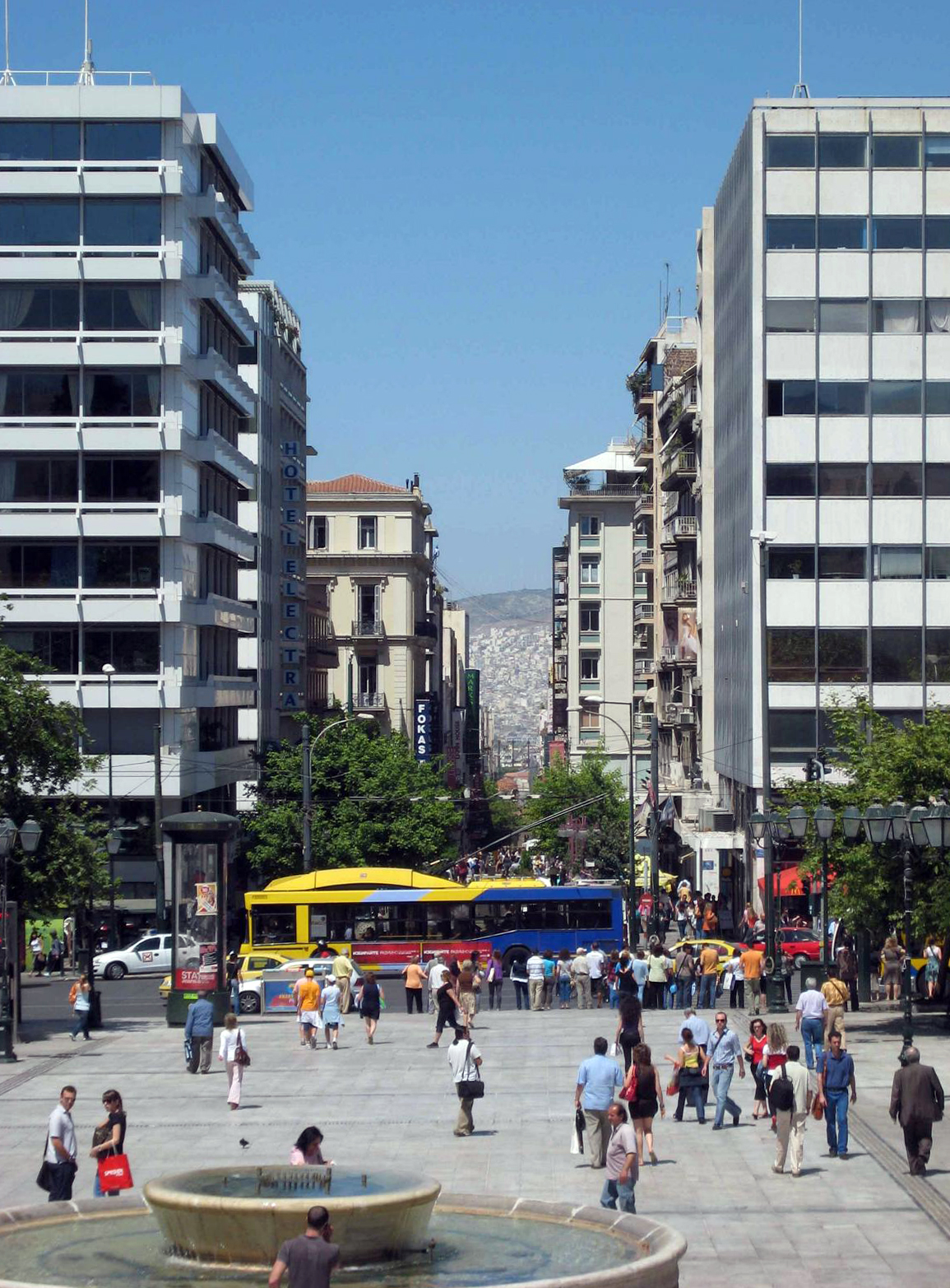 Einkaufstraße Odos Ermou
