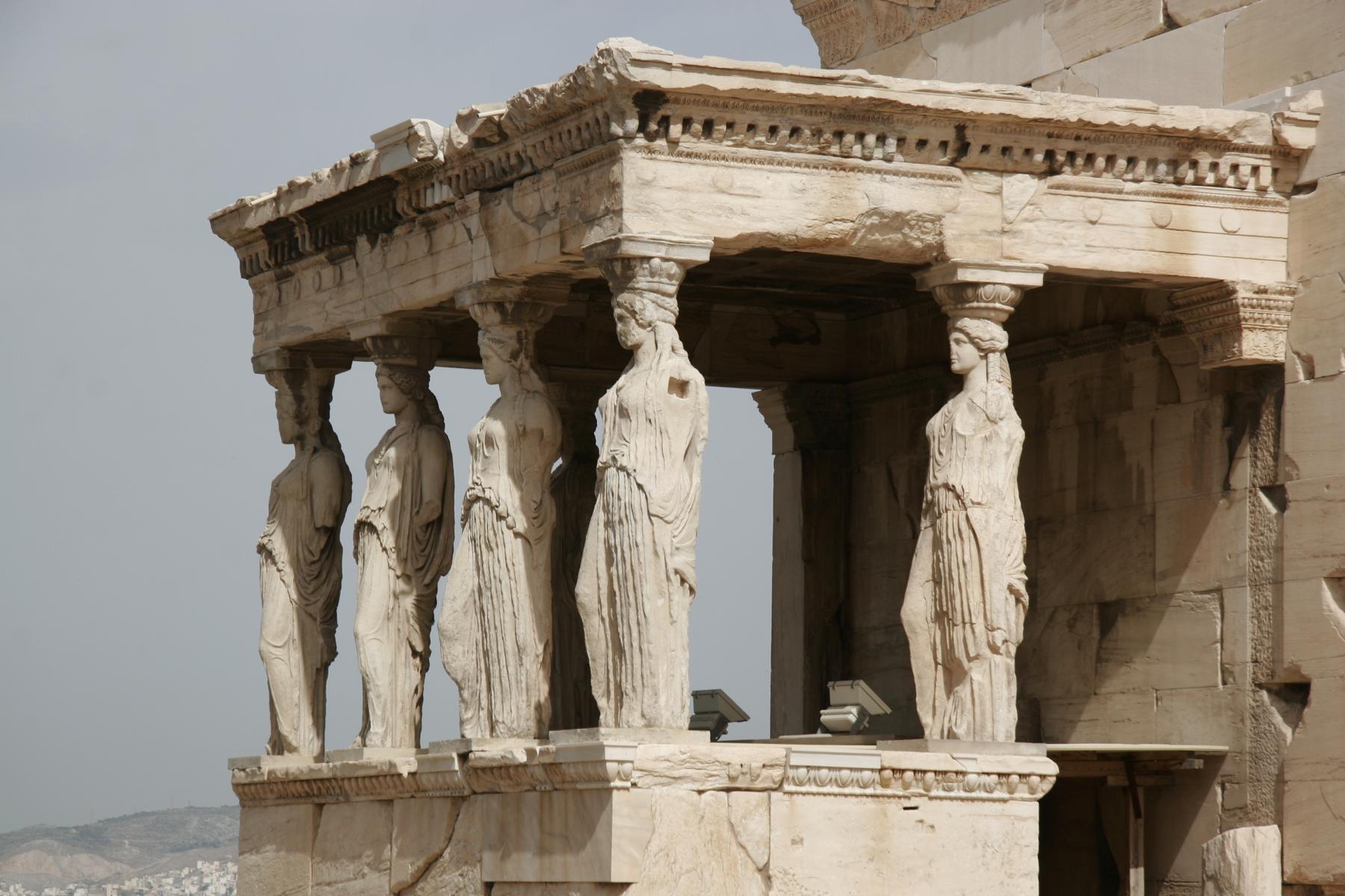 Erechtheion auf dem Akropolishügel
