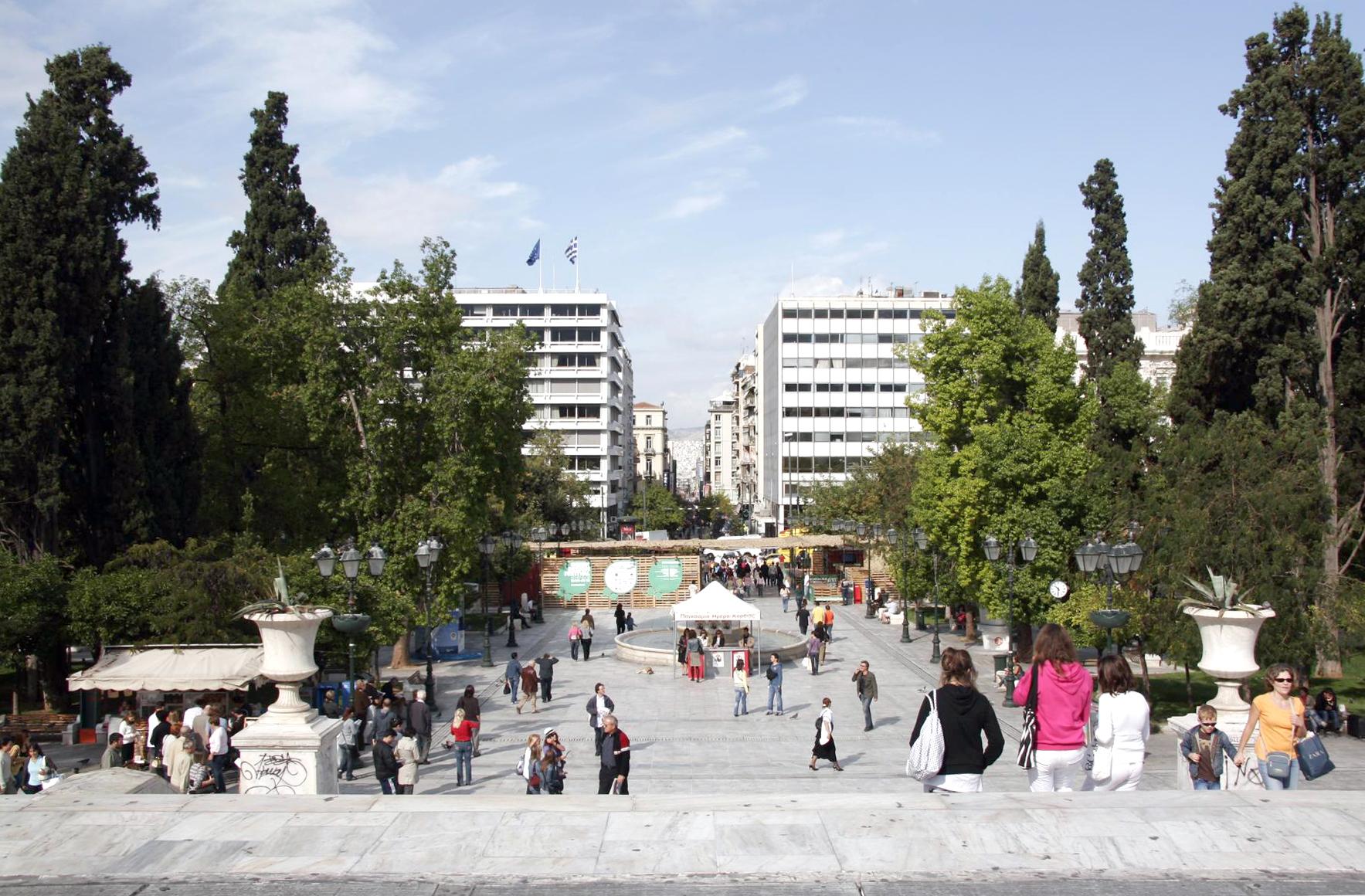 der Syntagma-Platz