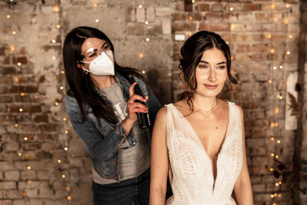 Brautfrisur und Braut Make-up von katharina Palzer aus Mainz / Brautstyling mit Homeservice / Hochsteckfrisuren und Braut Make-up / www.Brautstyling-Palzer.de