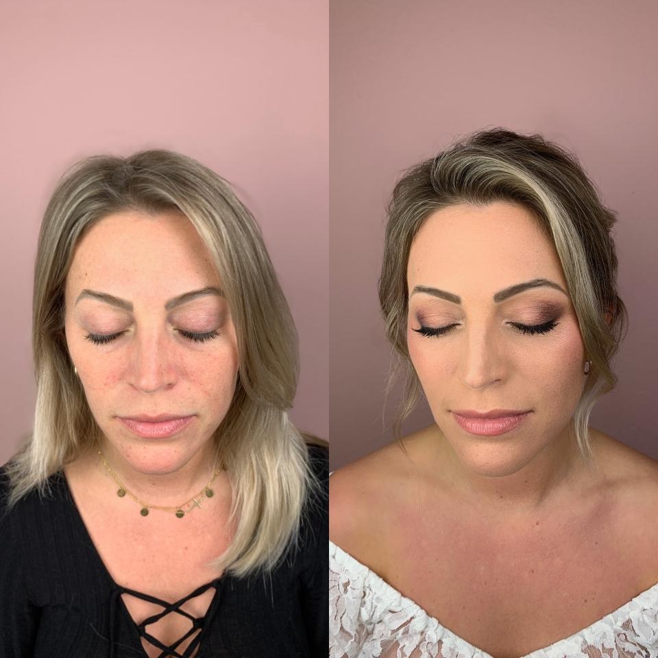 Braut Make-up und Brautfrisuren von Katharina Palzer aus Mainz Wiesbaden Frankfurt mit Homeservice