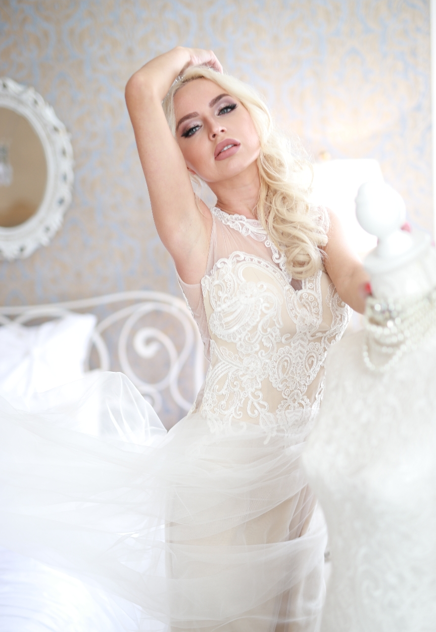 Bridal Shooting Styling für Designer: Niza Fashion / Styling: Hair & Make-up Artist Katharina Palzer