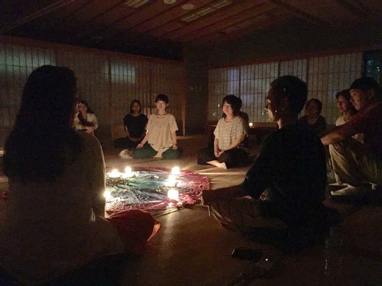 五年目を迎えたキャンドル瞑想会