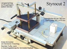 Styrocut mit Kreisschneider