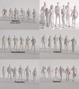Die abgebildeten Figuren sind nur noch in Restbeständen vorrätig. Sie werden durch neue Angebote abgelöst.