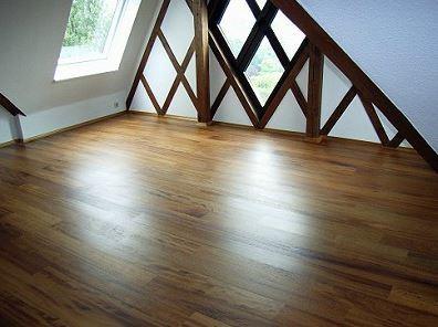 Dachboden nach der Renovierung