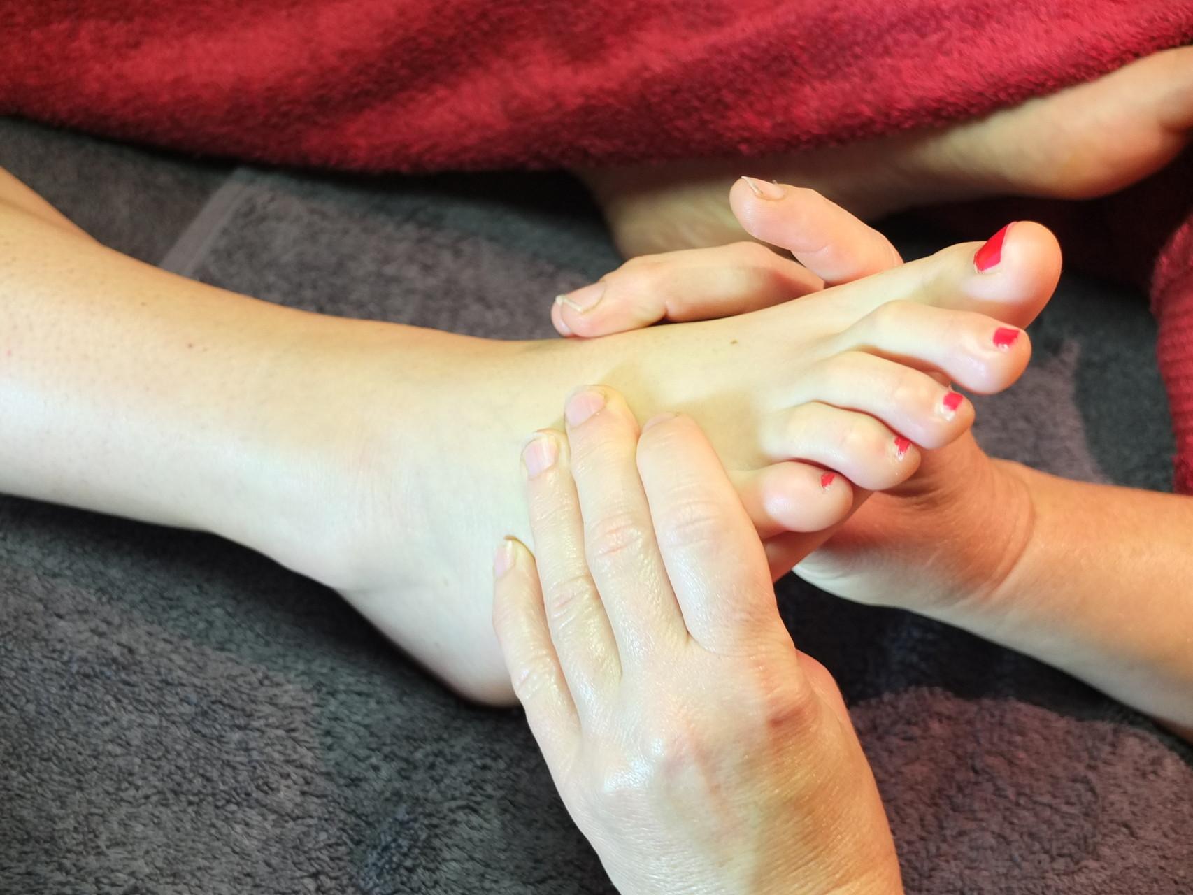 massage thaï des pieds