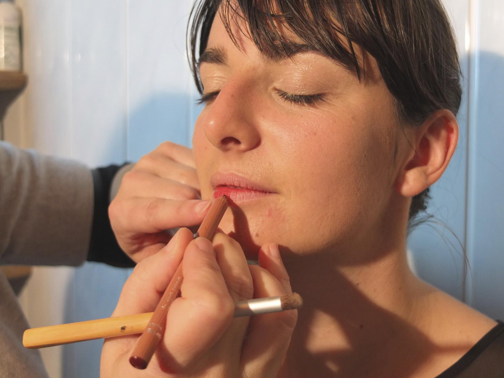 passer du crayon à lèvres
