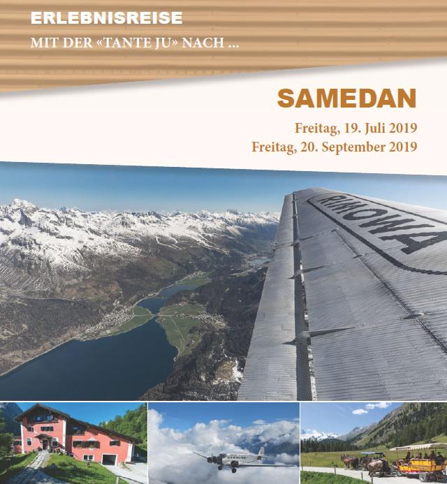 SAMEDAN - Freitag, 19. Juli 2019 + Freitag, 20. September 2019