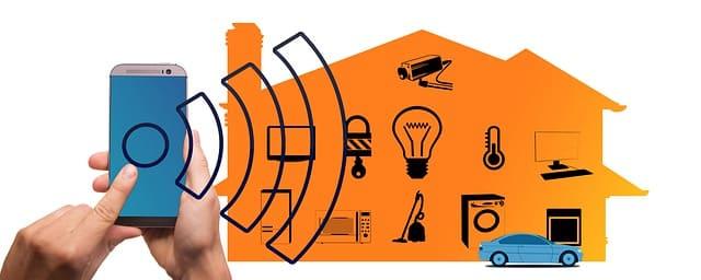 Smarthome - Blockhaus - Multimedia -  Bild Pixabay