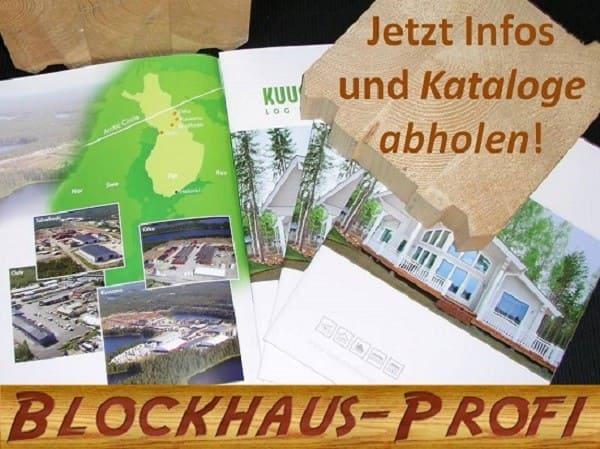 Blockhäuser - Holzhäuser - Katalog - Hessen -  Schleswig Holstein - Mecklenburg Vorpommern