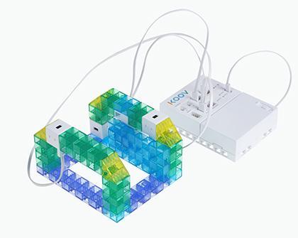ロボットプログラミング授業例の「改札機」の画像