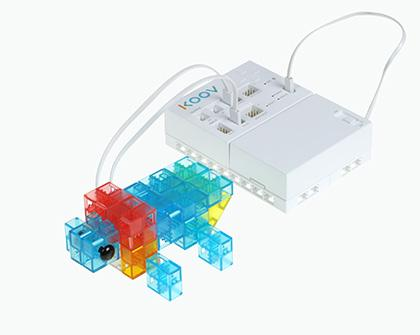 ロボットプログラミング授業例の「ホタル」の画像