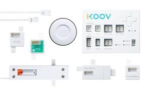 KOOVのモーター、センサー類の図