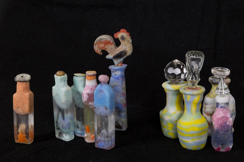 bottles and stoppers max height 15cm