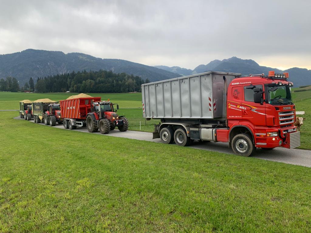 Wir bieten Transporte aller Art an.