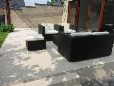 Balkonsanierung Abdichtungen Bodenbelage Steinteppich Mikrozement