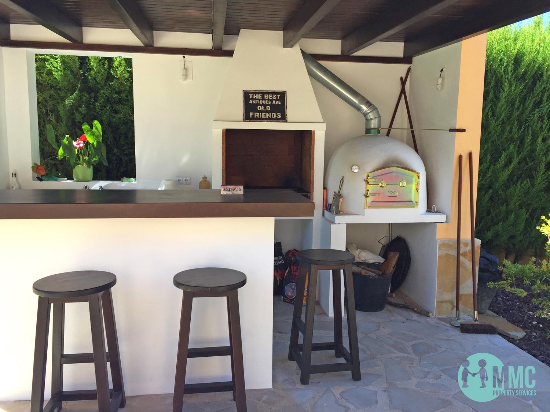 Cocina exterior - MMC Property Services Javea