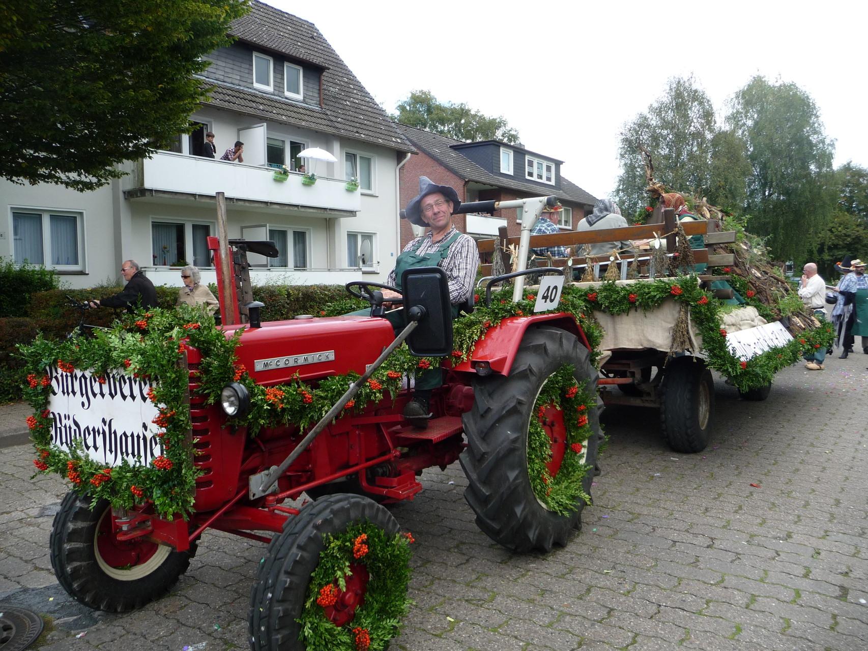 Treckerfahrer Karl-Heinz