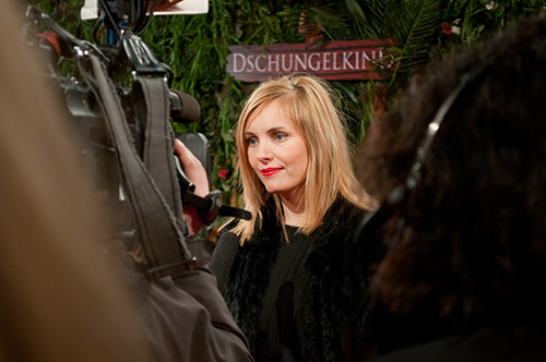 Nadja Uhl, Dschungelkind Premiere, source: maz&movie GmbH
