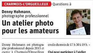 Lancement d'un Atelier photo