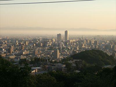 札幌市内の景色