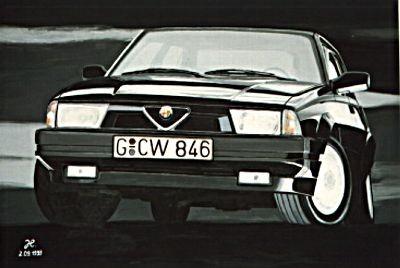 Alfa Romeo 75 – Acryl