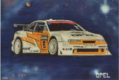 Opel Calibra DTM 1995 – Acryl mit Airbrush