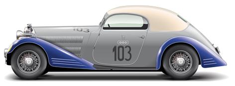 13 Horch 830 Spezialcoupe 1934