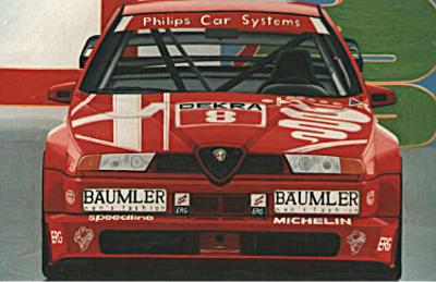 Alfa Romeo 155 V6 TI DTM 1993 – Acryl