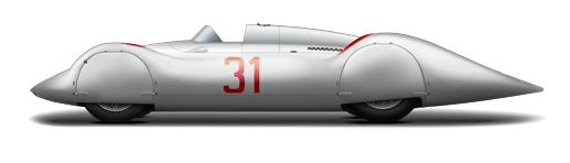 06 Typ C Stromlinien-Rennwagen 1937