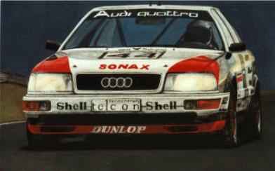 Audi V8 DTM 1990 – Acryl