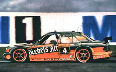 Mercdes 190E DTM 1993 – Acryl mit Airbrush