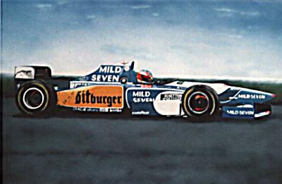 Benetton F1 M. Schuhmacher 1995 – Acryl mit Airbrush