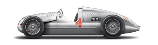 09 Typ D Grand-Prix-Rennwagen 1939