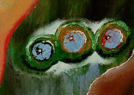 Drei Blaue Augen