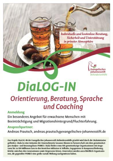 """Die Kurse """"DiaLOG-IN"""" sind buchbar - 06   2019"""