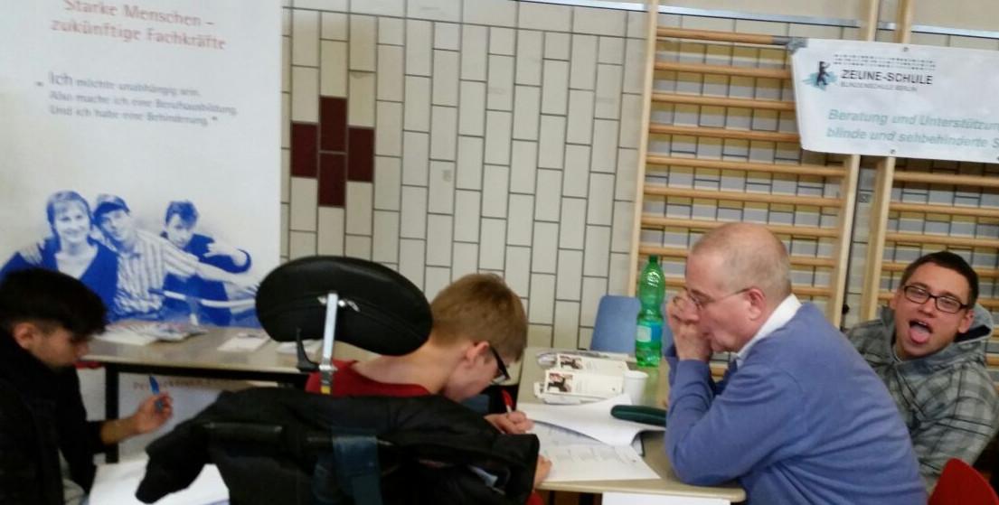 """""""Tag der offenen Tür"""" in der Biesalski-Schule Berlin (Förderzentrum körperliche und motorische Einschränkung) - 2016"""