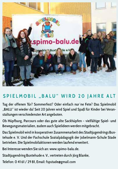 Stader Brise Ausgabe April/Mai/Juni 2016