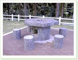 バーベキューテーブル1