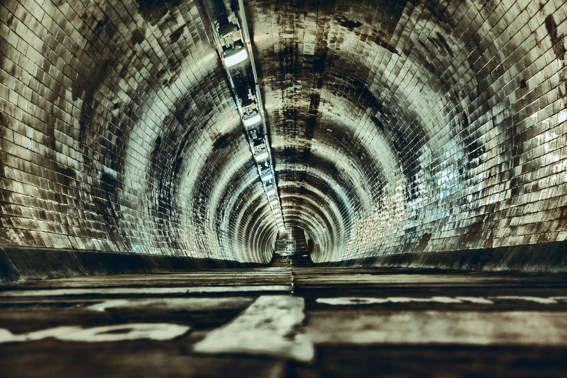 Alter Themse-Tunnel von 1825 London