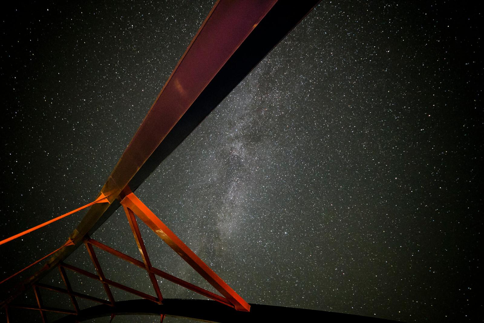 Sternenhimmel Dömitzer Brücke