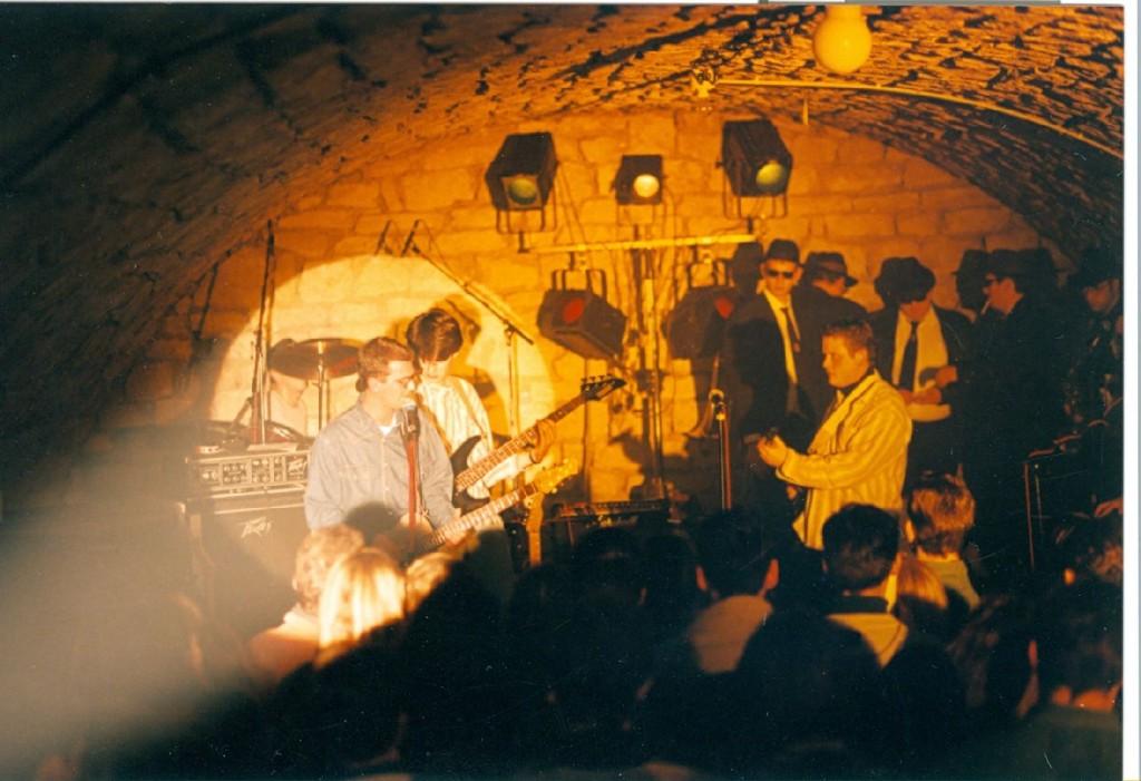 Letzter Auftritt der Urchunks im Dezember 1994 im Keller der Mauth!