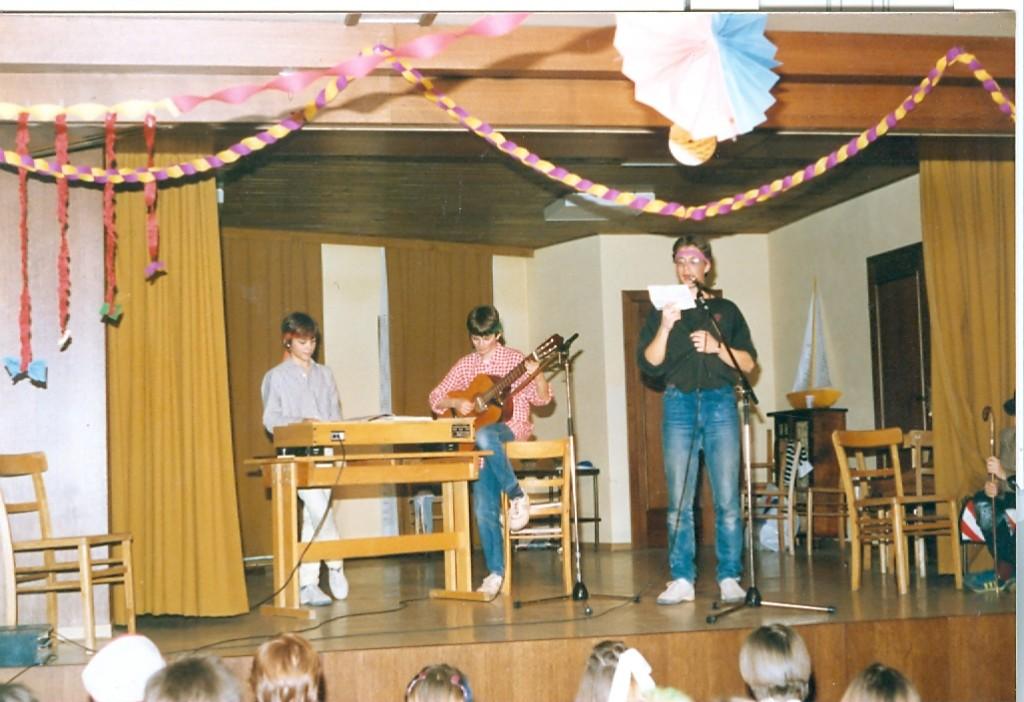 Alles begann an einem Jungscharfasching 1986!