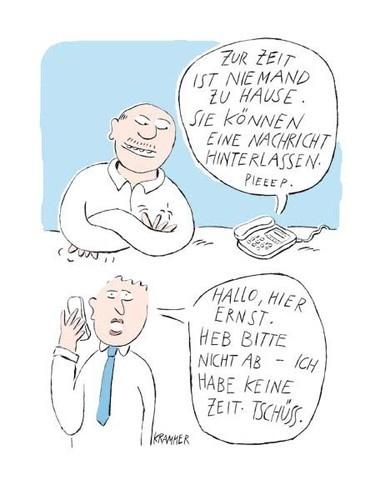 Cartoon © Margit Krammer, VBK Wien