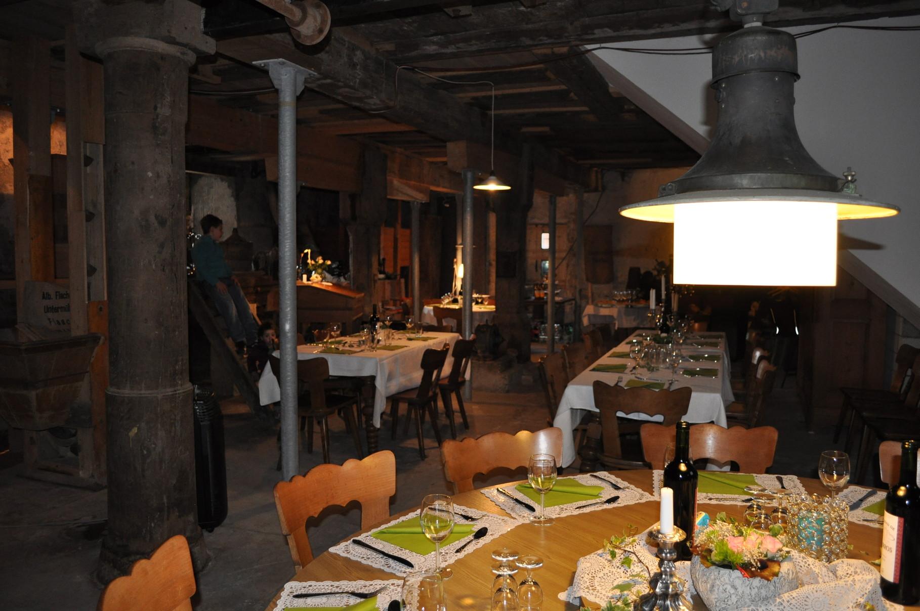 Kulinarik & Kultur in der Untermühle Flaach