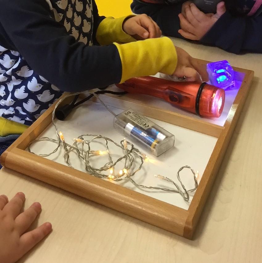 Aktionstabletts - Licht-Tablett